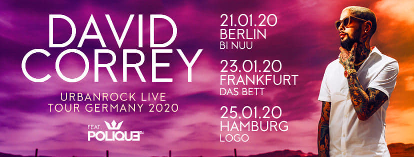 Urbanrock Live Tour Germany 2020